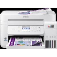 EPSON tiskárna ink EcoTank L6276, 3v1, A4, 1200x4800dpi, 33ppm, USB, Wi-Fi, LAN, bílá