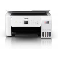 EPSON tiskárna ink EcoTank L3266, 3v1, A4, 1440x5760dpi, 33ppm, USB, Wi-Fi, bílá