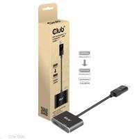 Club3D hub MST (Multi Stream Transport) DisplayPort 1.4 na DisplayPort + HDMI 4K60Hz (M/F)