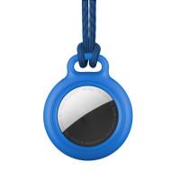 RhinoTech uzamykatelné pouzdro s poutkem pro Apple AirTag modrá