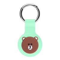 RhinoTech silikonové pouzdro dětské pro Apple AirTag - motiv medvěda