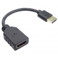 PremiumCord Flexi adapter HDMI Male - Female pro ohebné zapojení kabelu do TV