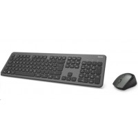 Hama set bezdrátové klávesnice a myši KMW-700, antracitová/černá