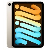 APPLE iPad mini (6. gen.) Wi-Fi + Cellular 64GB - Starlight