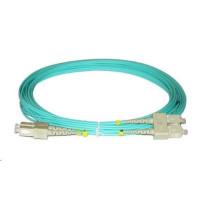 Duplexní kabel 50/125, OM3, SC-SC, 1m
