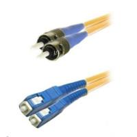 Duplexní kabel 9/125, ST/SC, 2m