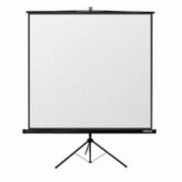 Reflecta TRIPOD Crystal Lux (160x160cm, 2cm černý okraj) plátno stojanové