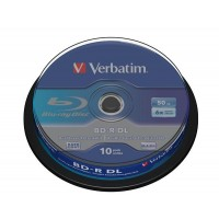 VERBATIM BD-R(10-pack)/DualLayer/spindle/6X/50GB