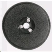 ARMOR páska pre S+U, Nr 35 nylon, černo-red, bibo, black-red, (GR.51)
