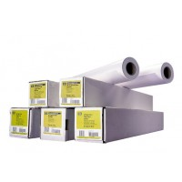 HP Bright White Inkjet Paper-420 mm x 45.7 m (16.54 in x 150 ft), 4.8 mil, 90 g/m2, Q1446A