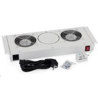 TRITON Ventilační jednotka horní (spodní) pro RBA-A6, RUA, 2 ventilátory, 230V/30W, termostat, šedá