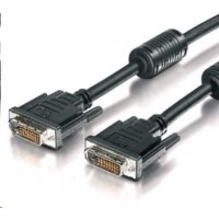 PREMIUMCORD Kabel DVI - DVI propojovací 5m (DVI-D, M/M, dual link)