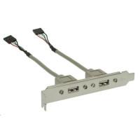 PREMIUMCORD Přídavné porty pro MB 2x USB (záslepka)