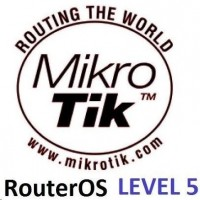 MikroTik RouterOS LEVEL 5 licence