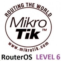 MikroTik RouterOS LEVEL 6 licence