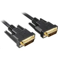 PREMIUMCORD Kabel DVI - DVI propojovací 10m (DVI-D, M/M, dual link)