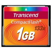 TRANSCEND Compact Flash Card (133x) 1GB