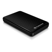 """TRANSCEND externí HDD 2,5"""" USB 3.0 StoreJet 25A3, 1TB, Black (nárazuvzdorný, 256-bit AES)"""