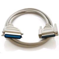 PREMIUMCORD Kabel paralelní 3m (DB25M - Centronics 36pin M, Bi-tronics)