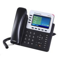 Grandstream GXP2140 [VoIP telefon - 4x SIP účet, HD audio, 5 program.tlačítek, bluetooth, EHS, barevný LCD, 2x GLAN]