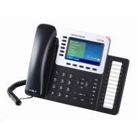 Grandstream GXP2160 [VoIP telefon - 6xSIP účet, HD audio, 5prog.tl. + 24 předvoleb, bluetooth, EHS,barevný LCD,2x GLAN]