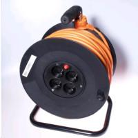 PREMIUMCORD Prodlužovací přívod 230V buben 50m, 4 zásuvky