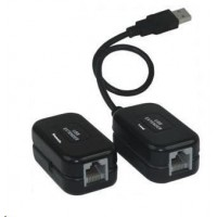PREMIUMCORD Extender USB 1.1 po RJ45 (až 60m)
