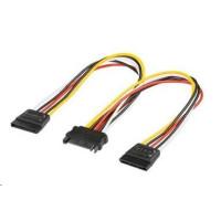 PREMIUMCORD Kabel SATA napájecí k HDD rozdvojka 2x SATA