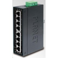 Planet switch IGS-801M, 8X 1000BASE-T, DIN, IP30, -10 AŽ 60°C, ESD+EFT DO 6KV, WEB/SNMP, VLAN, STP