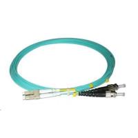 Duplexní kabel 50/125, OM3, LC-ST, 1m