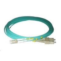 Duplexní kabel 50/125, OM3, LC-SC, 1m