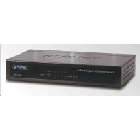 Planet switch GSD-503 5x10/100/1000BASE-T, EUP, 802.3AZ, kov