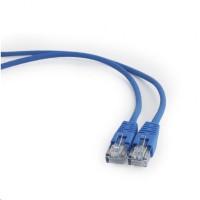 GEMBIRD Kabel UTP Cat5e Patch 1m, modrý