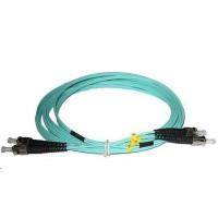 Duplexní kabel 50/125, OM3, ST-ST, 1m