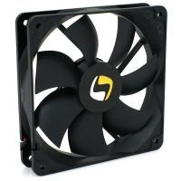 Rozměry (mm): 120x120x25 Rychlost otáčení ventilátoru:  1500 ot/m. +/-10% Hlučnost(dB/A): ~21 Průtok vzduchu: ~65 CF