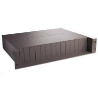 TP-Link TL-MC1400 - Modulární expanzní báze k upevnění do racku pro media konvertory, 2U