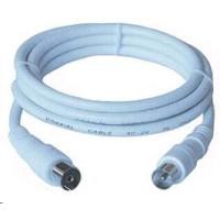 PREMIUMCORD TV kabel anténní propojovací 15m (koaxiální, M/F, 75 Ohm)