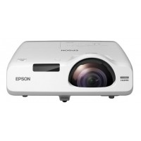 EPSON projektor EB-535W, 1280x800, 3400ANSI, HDMI, VGA,LAN.SHORT,10.000h ECO životnost lampy, REPRO 16W