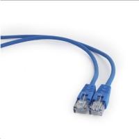 GEMBIRD Kabel UTP Cat5e Patch 0,25m, modrý