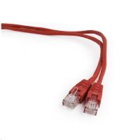 GEMBIRD Kabel UTP Cat5e Patch 0,25m, červený
