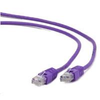 GEMBIRD Kabel UTP Cat5e Patch 0,25m, fialový