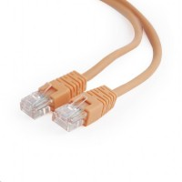 GEMBIRD Kabel UTP Cat5e Patch 2m, oranžový