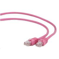 GEMBIRD Kabel UTP Cat5e Patch 3m, růžový