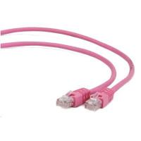 GEMBIRD Kabel UTP Cat5e Patch 5m, růžový