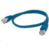 GEMBIRD Patch kabel CAT6 stíněný FTP 0,5m, modrý