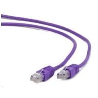 GEMBIRD Patch kabel CAT6 stíněný FTP 0,5m, fialový