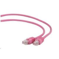GEMBIRD Patch kabel CAT6 stíněný FTP 3m,růžový