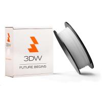 3DW - ABS filament pre 3D tlačiarne, priemer struny 1,75mm, farba biela, váha 1kg, teplota tisku 220-250°C