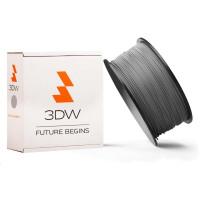 3DW - ABS filament pre 3D tlačiarne, priemer struny 1,75mm, farba strieborná, váha 1kg, teplota tisku 220-250°C