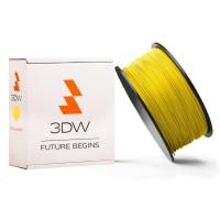 3DW - ABS filament pre 3D tlačiarne, priemer struny 2,9mm, farba žltá, váha 1kg, teplota tisku 220-250°C